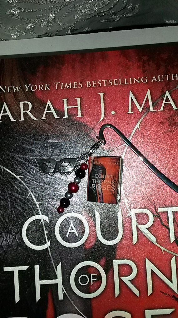 Mini Book Bookmarks A Court Of Thorns And By Geeksonthepageshop