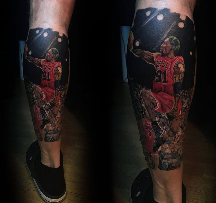 Dennis rodman tattoo limited availability revelation