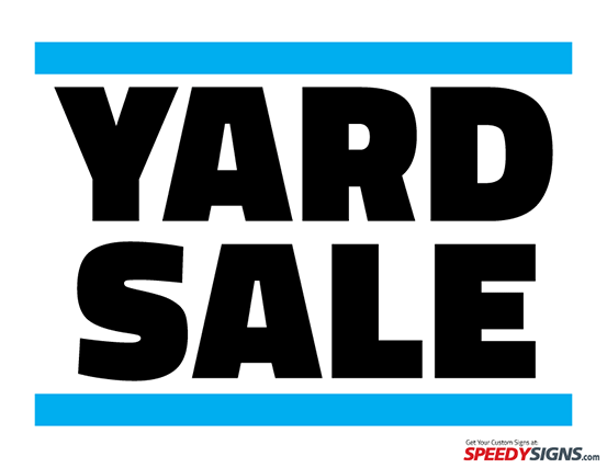 free yard sale printable sign template diy vinyllettering vinyl