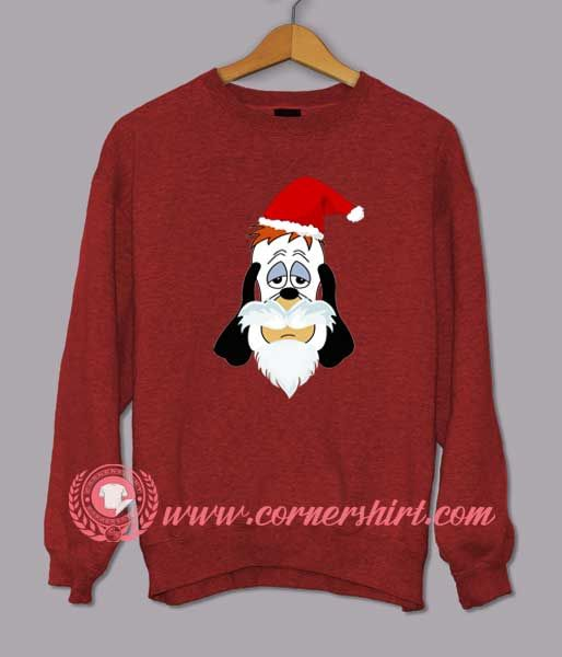 Droopy Santa Clause Custom Design Sweat shirts   Price   24   FREE Shipping      hashtag3 eb98f8753