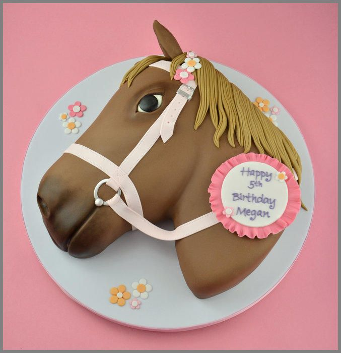 Today I made my first horse themed cake I was asked to make a
