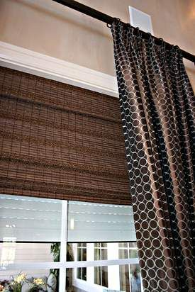 Curtains Ideas curtains blinds shades : 17 Best images about Woven wood blinds on Pinterest | Living rooms ...