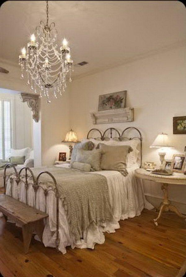 Vintage Shabby Chic Bedroom Furniture Layout Avec Images