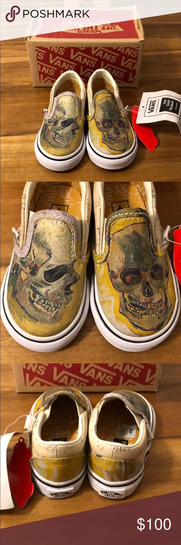 Vans Vincent Van Gogh Skull Slip On Vans Gogh Slip On