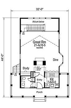 Cabin Design Plans | Small Cabin Floor Plans Cozy Compact And Spacious