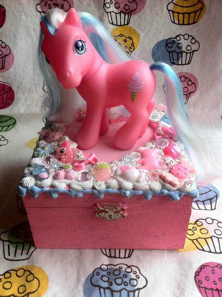 My Little Pony Jewelry Box Gorgeous Cotton Candy My Little Pony Jewelrylessthan3Chrissy  My Little Design Ideas