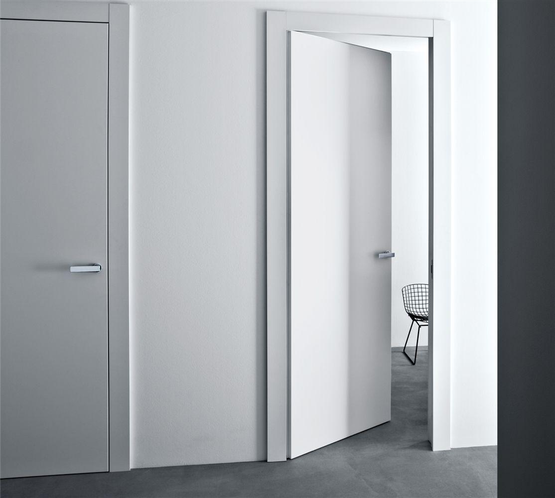 Invisible Hinges Contemporary Door Trim Bella Lualdi