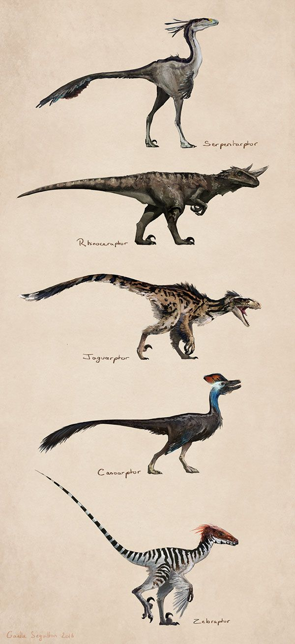 Savanna raptors #prehistoriccreatures
