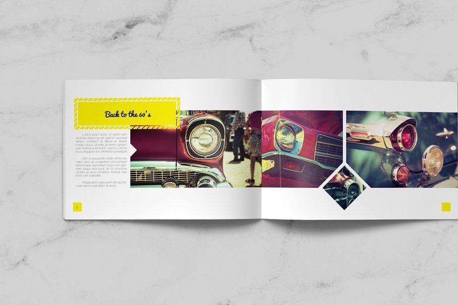 retro brochure design brochure retro templates design flyer