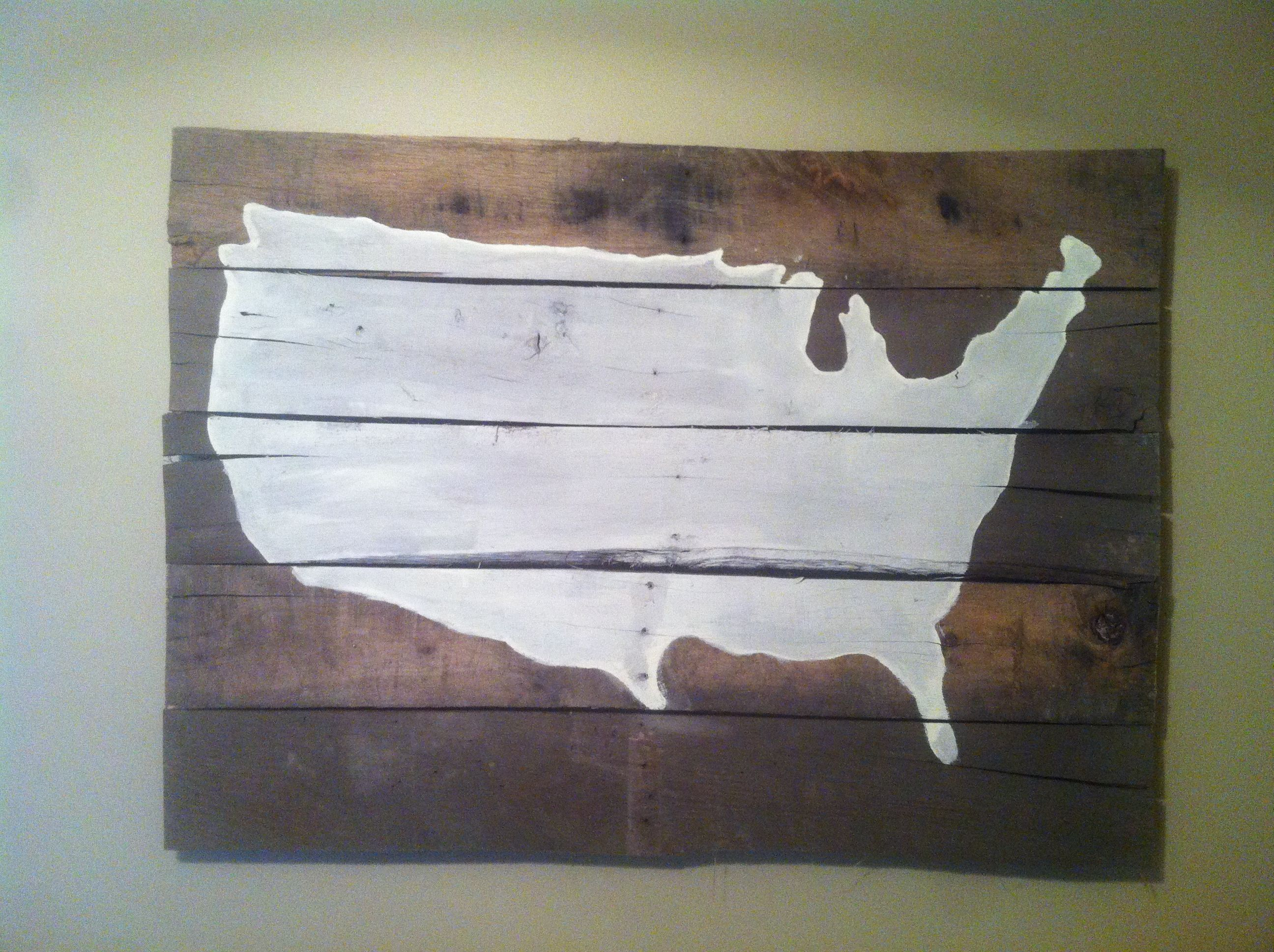 United States u.s. pallet project for boys eclectic room!!!