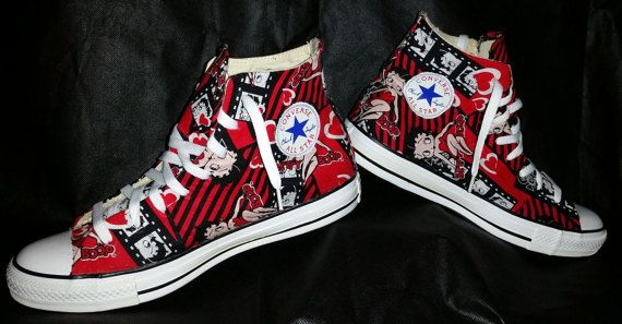 108d93ff3d33 LuniqueCreations customized  HI-Top  CONVERSE  Betty Boop