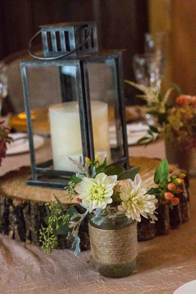 Rustic Elegance Danielson Weddings Wedding Centerpieces Mason Jars Rustic Wedding Centerpieces Rustic Lantern Centerpieces