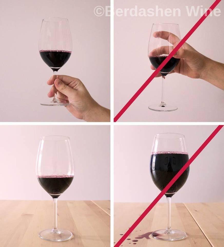 Wineglass Holding Tips How To Hold Wineglass Properly With Berdashenwine Etiqueta De Jantar Guia De Vinhos Etiqueta E Boas Maneiras