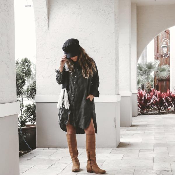 Harper Shirt Dress – LJC DESIGNS