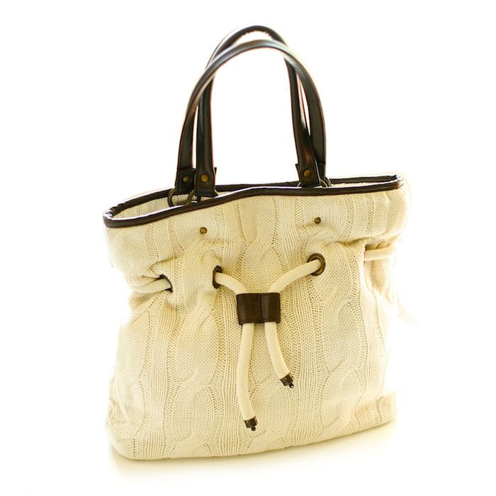cotton sweater bag | style of a certain age | Pinterest | Cotton ...