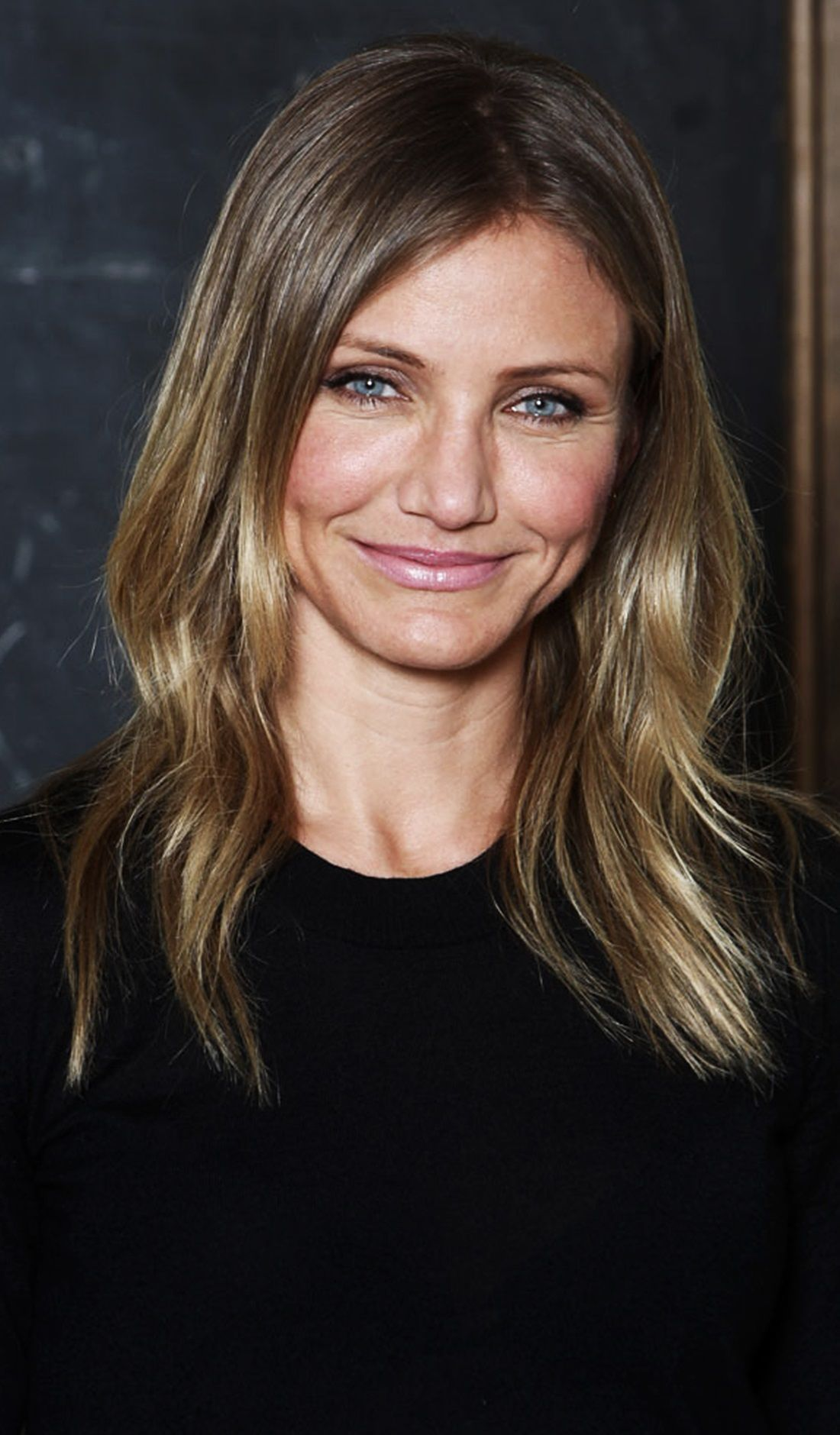 Cameron Diaz hair- i feel like my hair is accidentally doing this. seems like its getting darker.