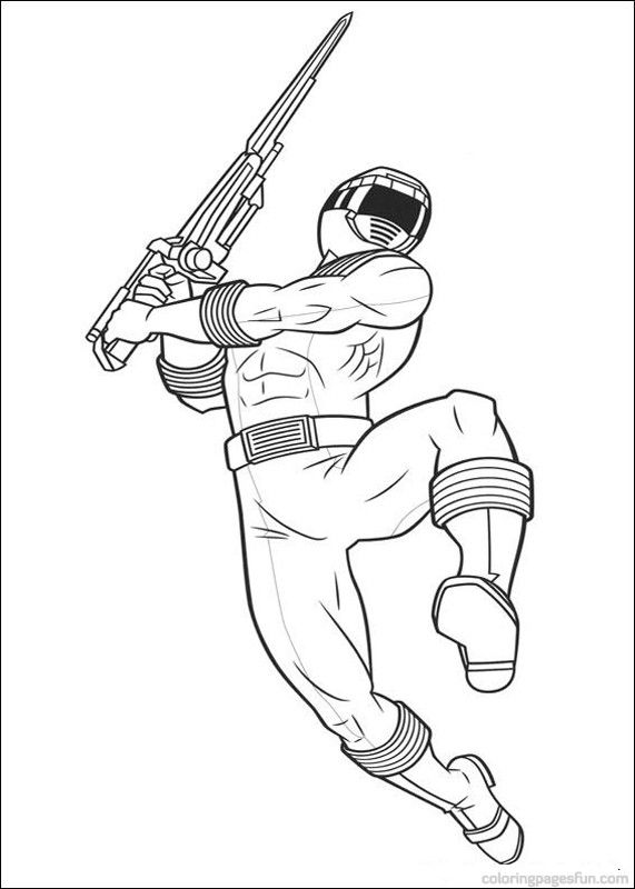 power rangers coloring pages | Power Rangers Coloring Pages 98 ...