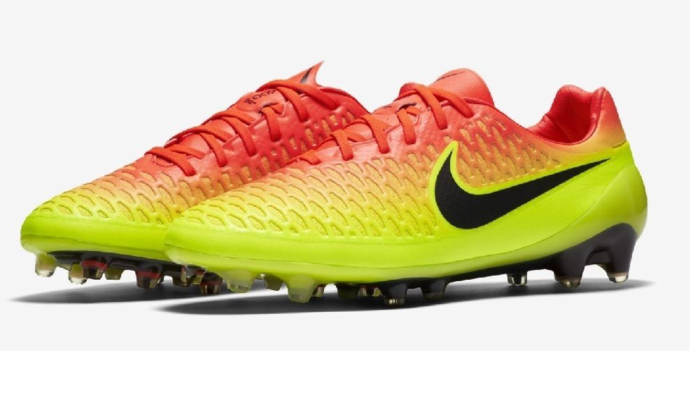 best website 84a49 521f0 Nike Mens Magista Opus FG Soccer Cleats 649230 807 CrimsonBlackVolt Size  7.5 Nike SoccerCleat