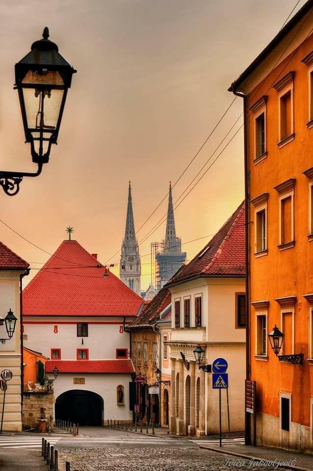Zagreb Old Town Zagreb Croatia Zagreb Croatia Travel