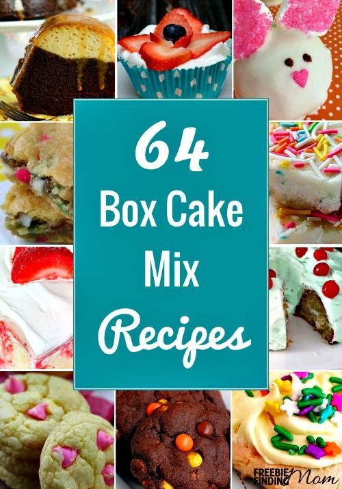 Semi Homemade Cakes With Cake Mixes