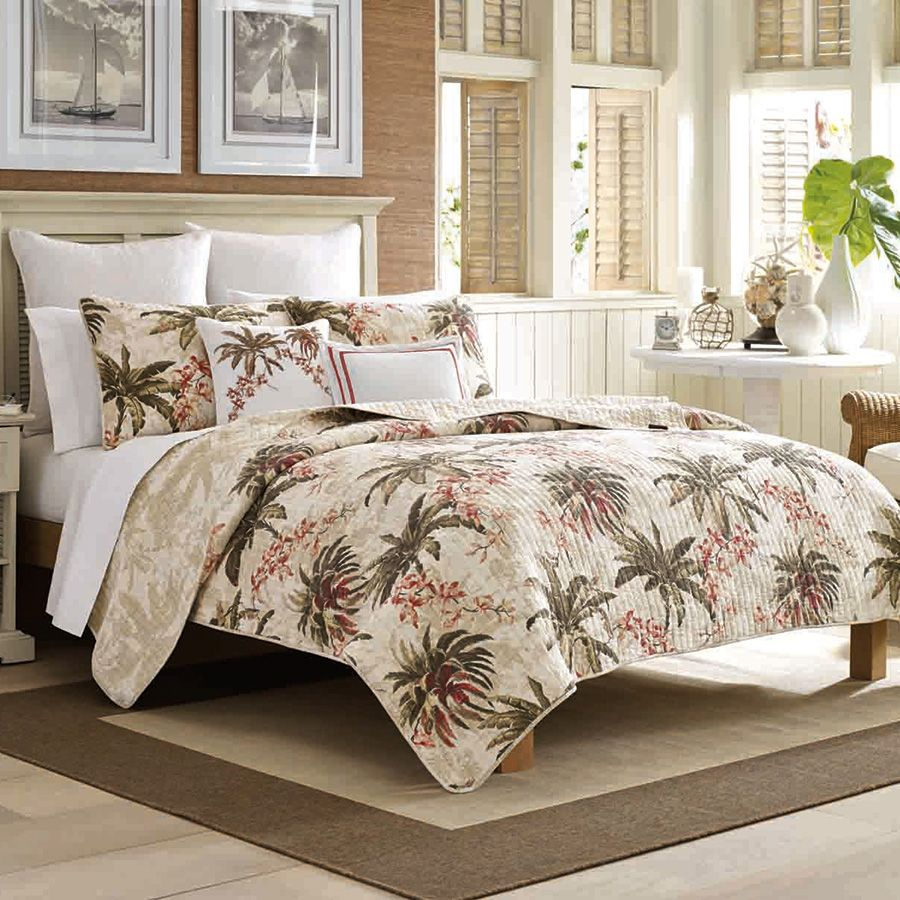 Tommy Bahama Bonny Cove Quilt Set From Beddingstyle Com Tropical