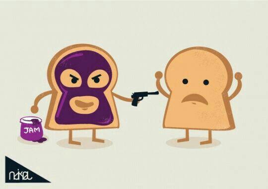RUN,BREAD RUN!!! #run #bread #murdererbread