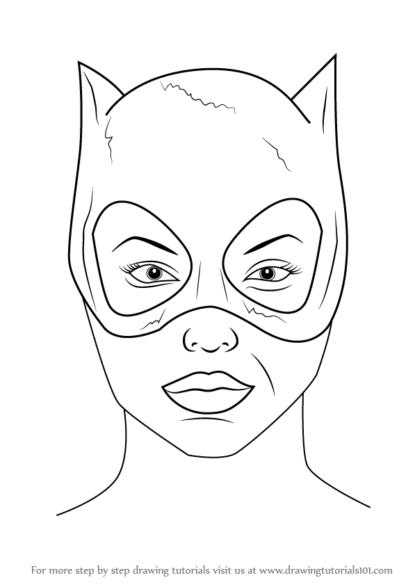 Cats Are Popular Among Kids People Like To Keep Them In Their Homes As Pets Catwoman Mask Is -7356