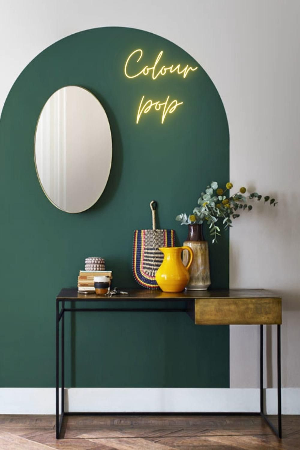 Want to bring a bit of colour into your home, but not sure where to start?