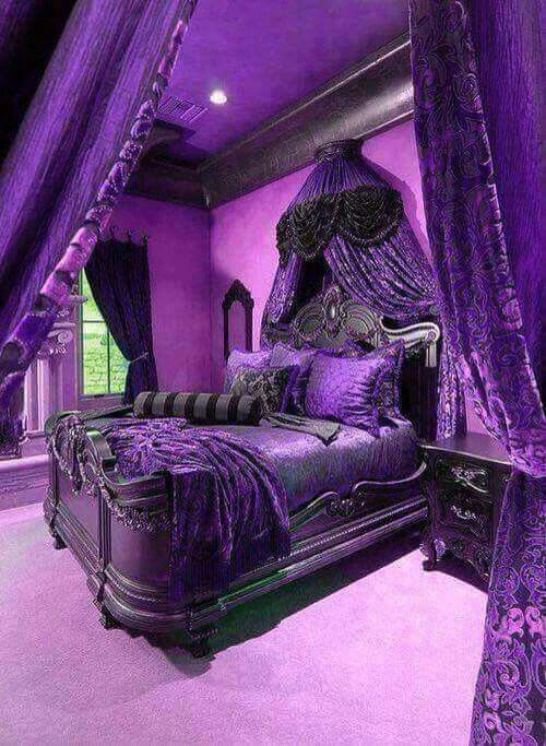 Pin By Suzanne Singh On Gothic Interiors And Designs Beautiful Bedrooms Bedroom Design Gothic Bedroom
