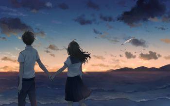 Fondo De Pantalla Hd Fondo De Escritorio Id 725829 Pareja Anime Anime Estetico Dibujos Anime De Amor