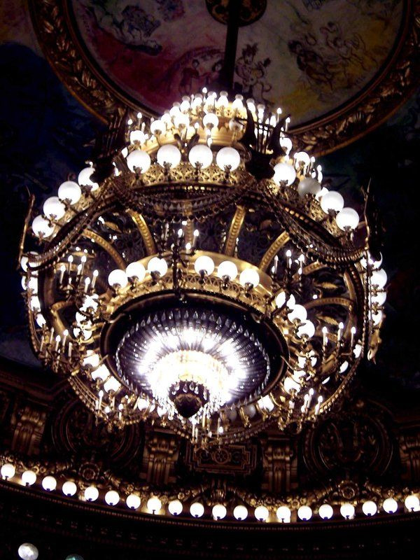 Chandelier at the opera garnier in paris where the phantom of the chandelier at the opera garnier in paris where the phantom of the opera is based thanks to tim peacock for sharing this lovely piece of light art in his aloadofball Images