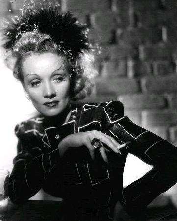 Marlene Dietrich in Seven Sinners, 1940.