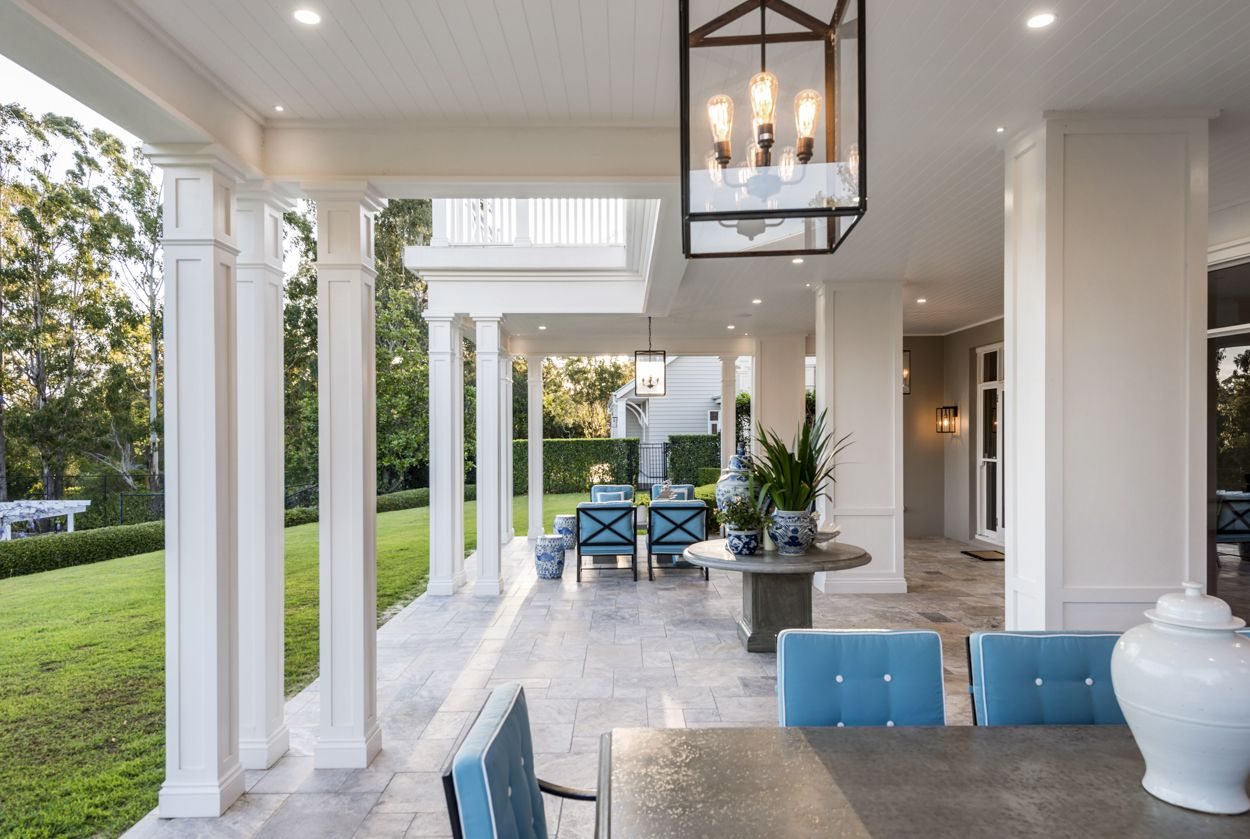 Classic american home interior the renovation of the bridgeman downs residence displays the best of
