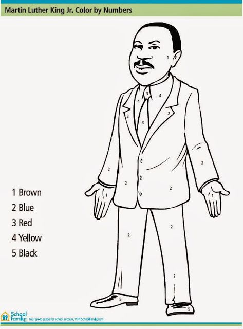 Activities to Celebrate Martin Luther King Jr. Day with your ...