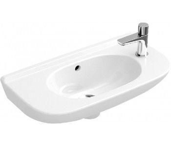 Villeroy Boch O Novo Compact Fontein Wit 53615001 Cloakroom Basin Wash Basin Villeroy Boch