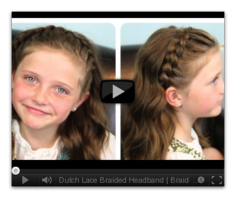 Cute Girls Hairstyles | 5-Minute Hairstyle Video Tutorials!!! Great ...