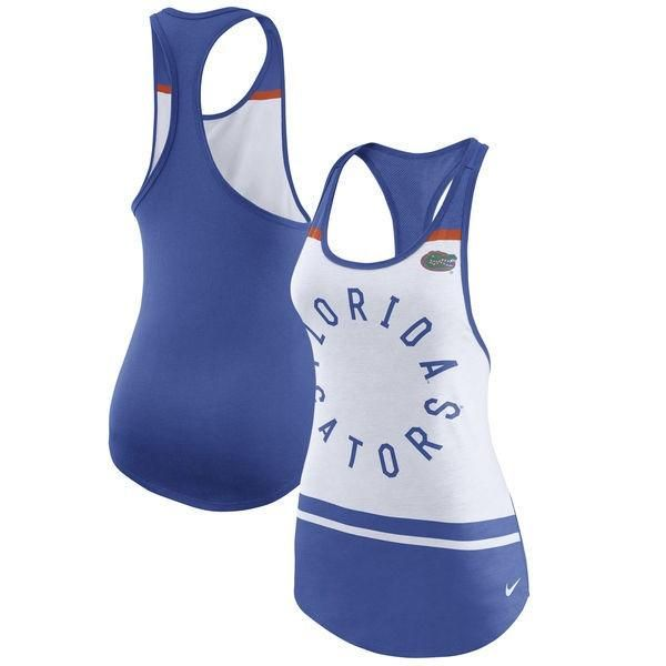 NCAA Florida Gators Nike Womens Circle Performance Racerback Tank - What is the time now in florida