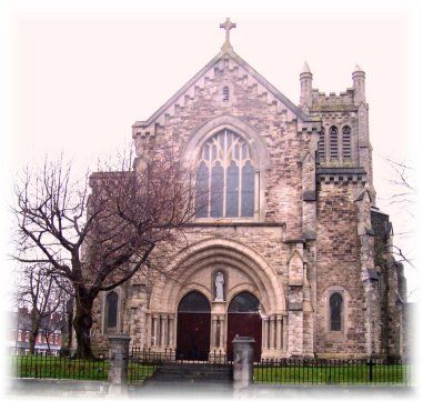 front view of st anthony s catholic church belfast ireland