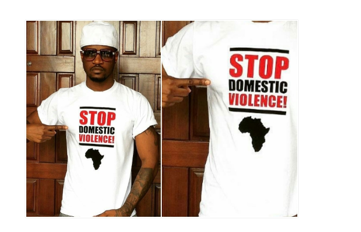 Peter Okoye of the Psquare fame has spoken up against the high spate of domestic violence currently rocking marriages in Nigeria. On his Instagram page, he shared a photo of him wearing a Tshirt branded 'Stop Domestic Violence' and this engaged his followers in some sort of... #naijamusic #naija #naijafm