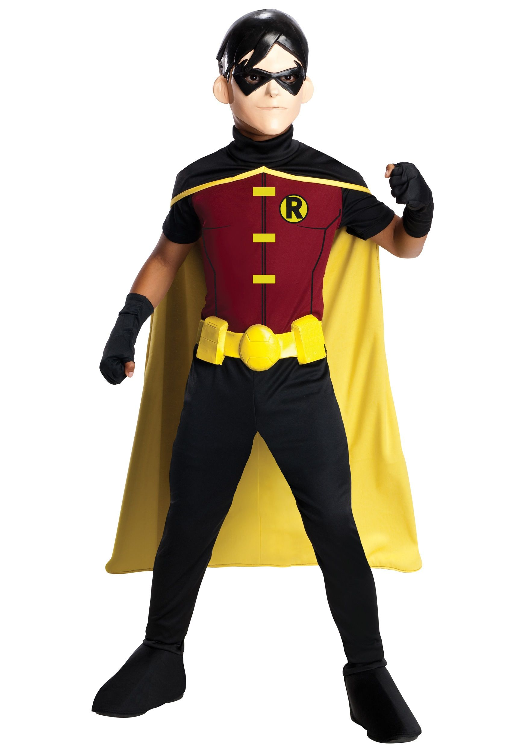 Kids Robin Young Justice Costume | Robin costume, Costumes and ...