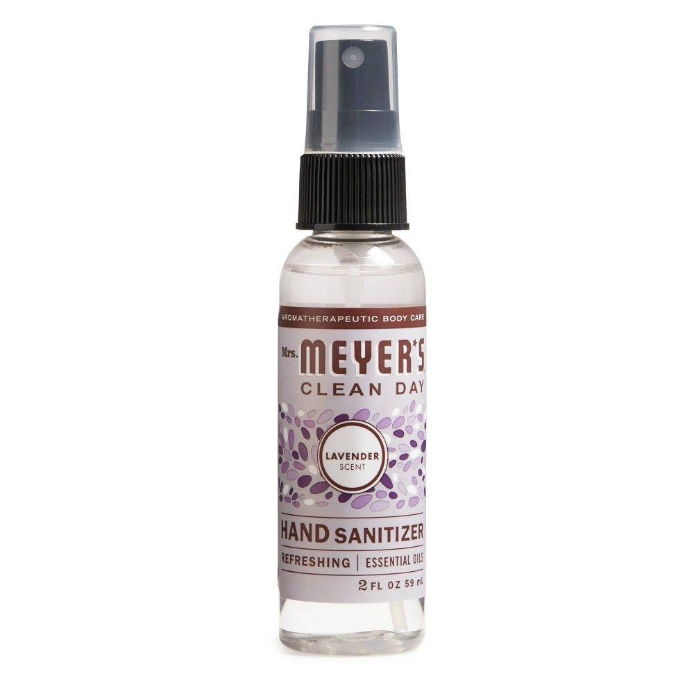 Mrs Meyer S Lavender Clean Day Hand Sanitizer 2 Fl Oz Hand