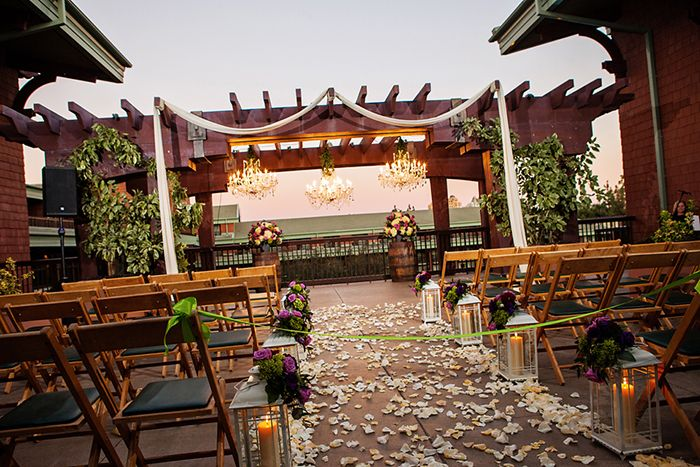 Tie The Knot On Top Floor Of Disney S Grand Californian Hotel Spa At Parkview Terrace