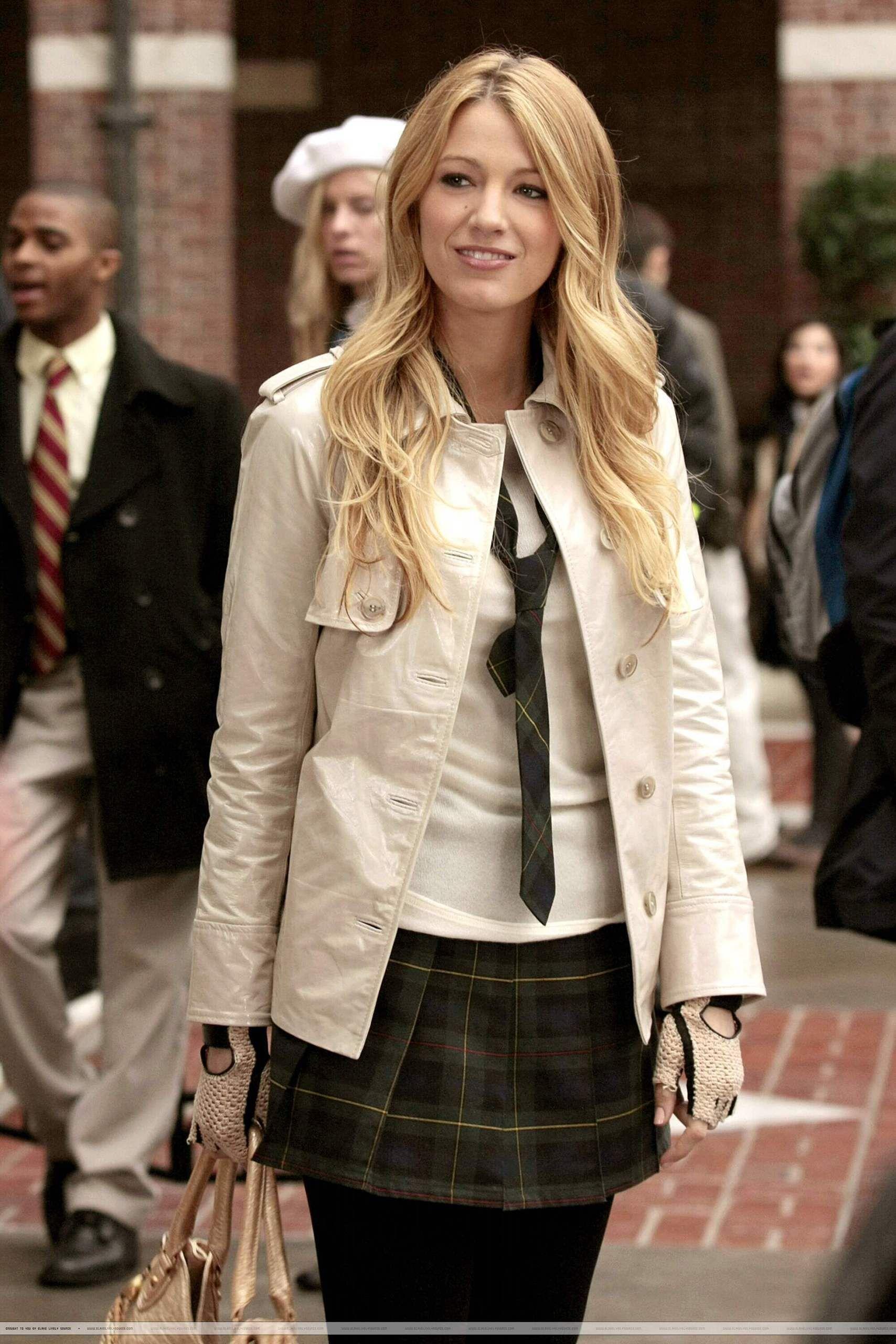 61a96303b23f Serena s classic Constance uniform on Gossip Girl. Jacket