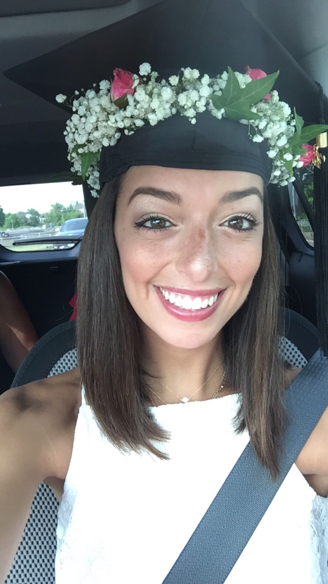 Flower Crown Graduation Cap Everything And Anything In 2018