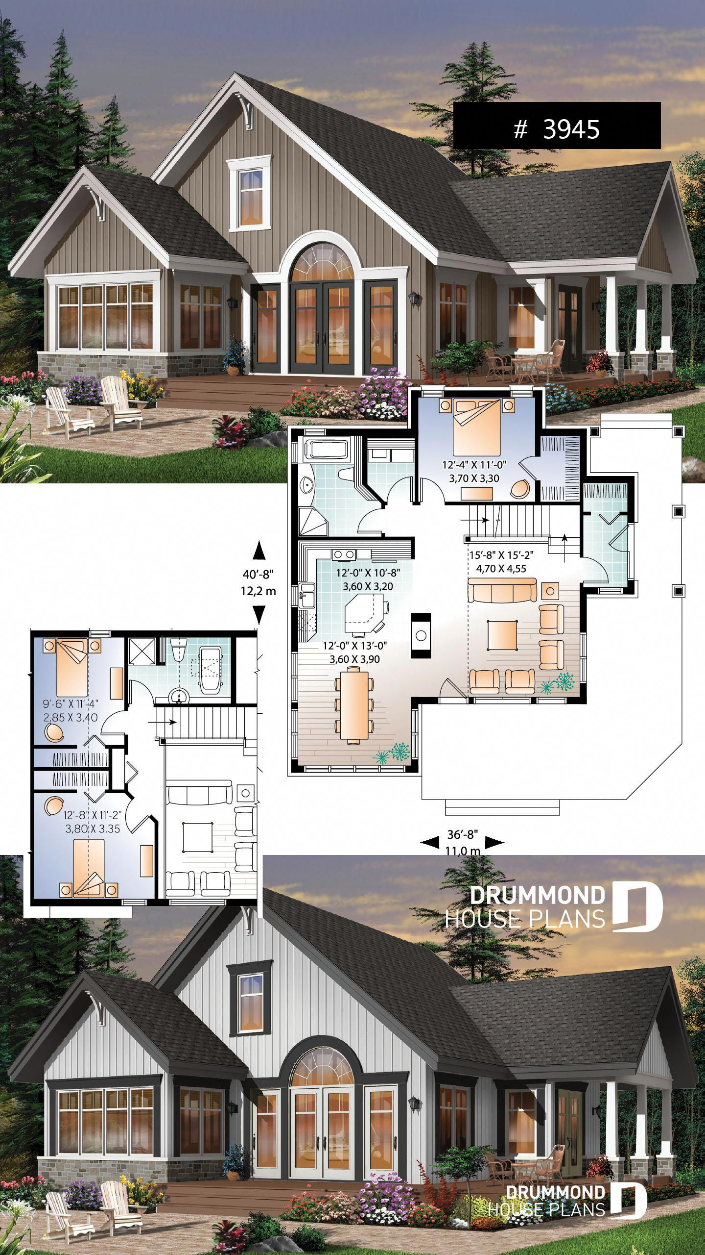 36 Industrial Home Decor Ideas That Will Make You Fall In Love With This Style In 2020 Sims House Plans House Blueprints New House Plans