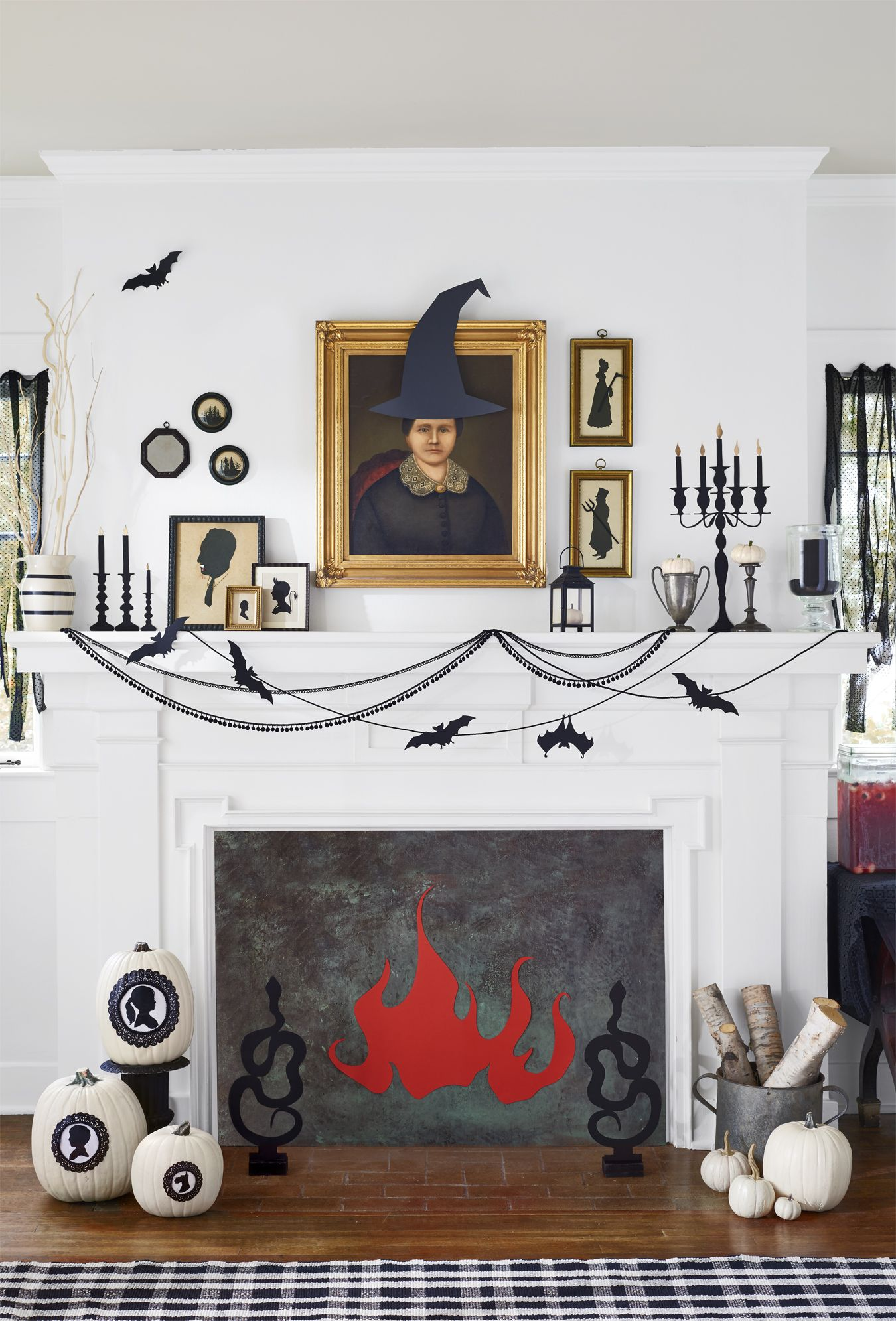 45 Fun and Festive Halloween Party Decoration Ideas Pinterest - Halloween Decoration Ideas Pinterest