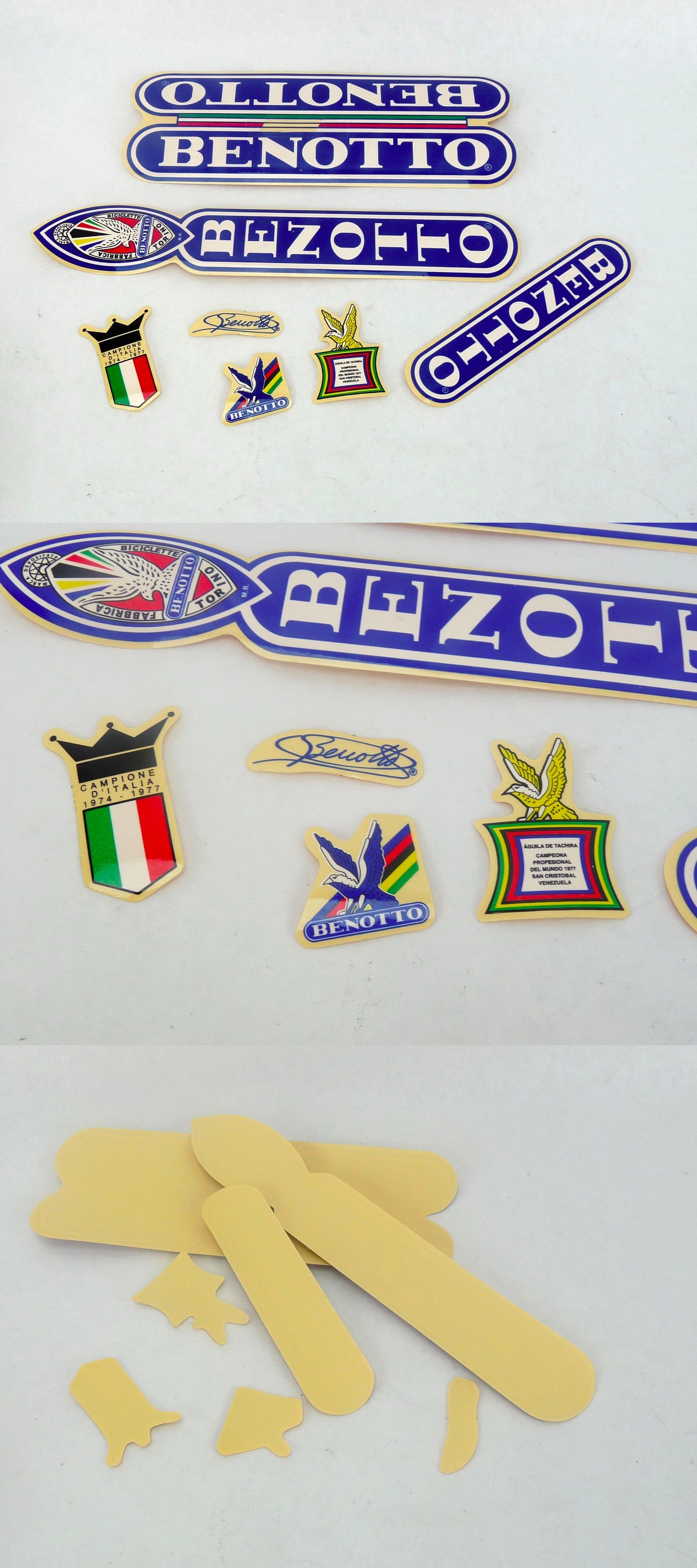 Decals Stickers 106953  Benotto Decal Set Stickers Vintage
