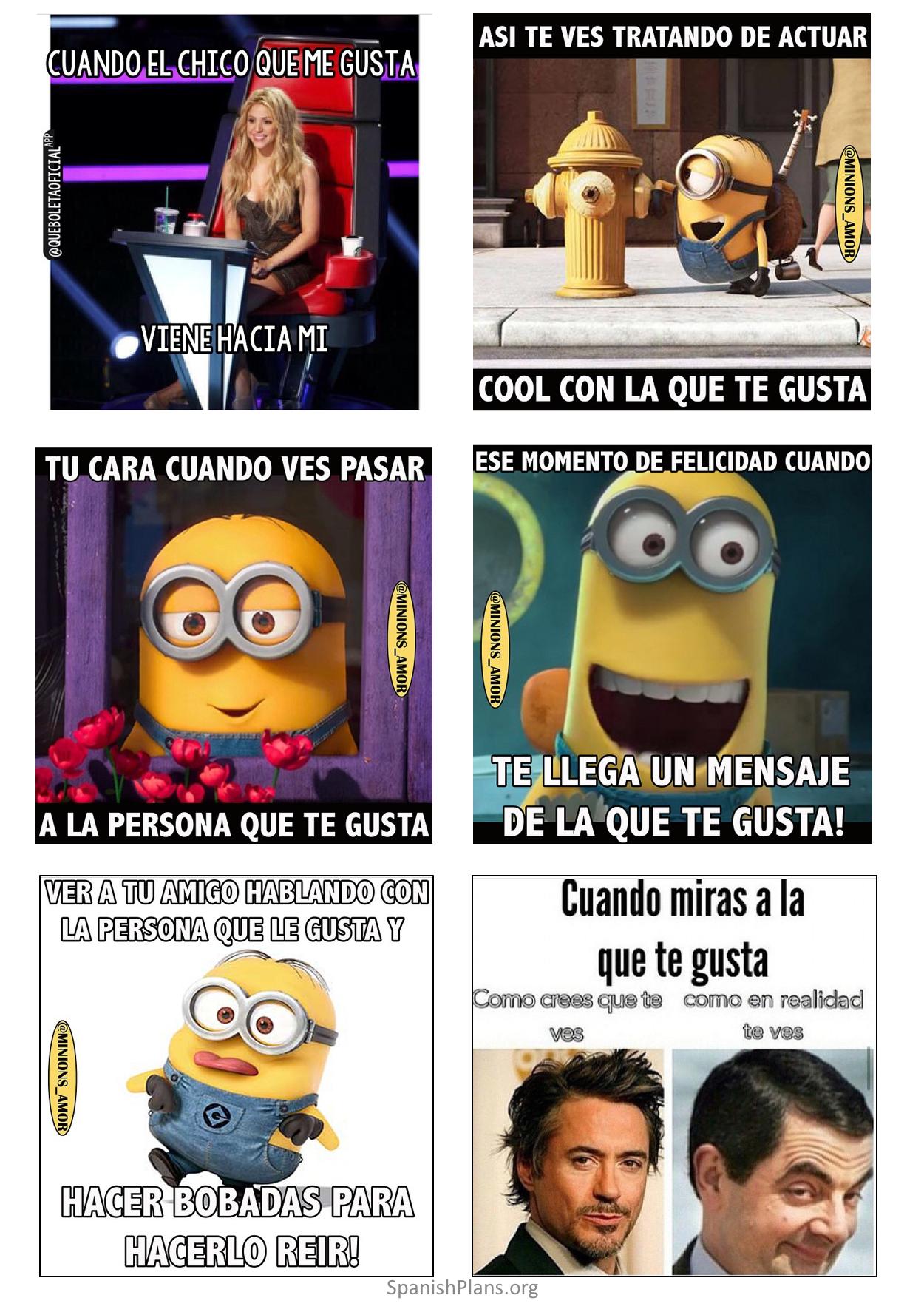 Me Gusta Vs Me Cae Bien Funny Spanish Memes Funny Memes Spanish Jokes