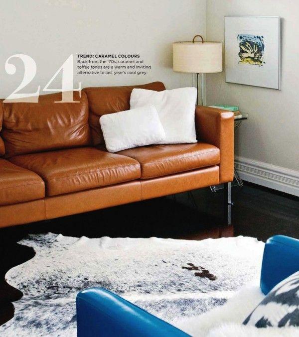 Modern Design For Caramel Color Sofa Via Trendy Com Caramel