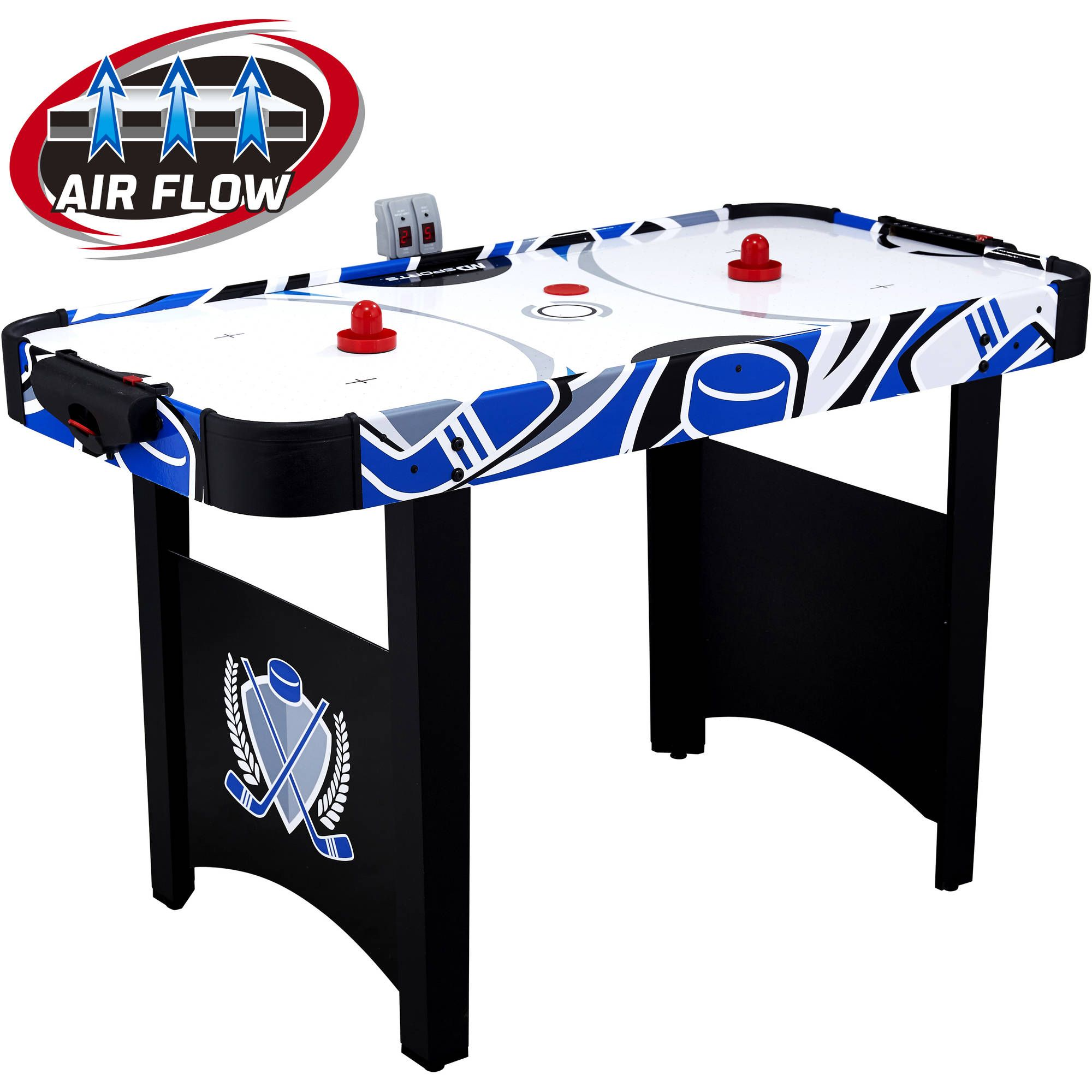 Md Sports 48 Air Powered Hockey Table 33 89 Air Hockey Air Hockey Table Sports Games For Kids